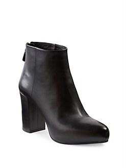 prada leather boots women