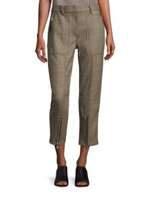 Glen Plaid Utility Cargo Pants by 3.1 Phillip Lim