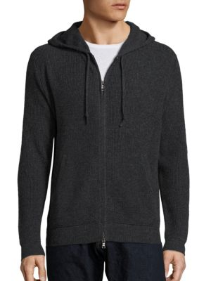 Hooded Wool Sweater