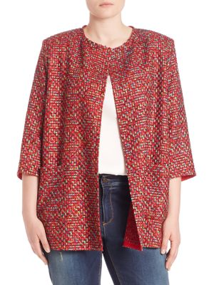Famoso Ribbon Jacket plus size,  plus size fashion plus size appare