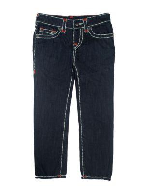 Toddler's  Little Boy's  & Boy's Geno Contrast Stitch Jeans