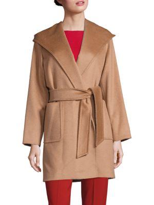 Rialto Short Camel Hair Coat plus size,  plus size fashion plus size appare