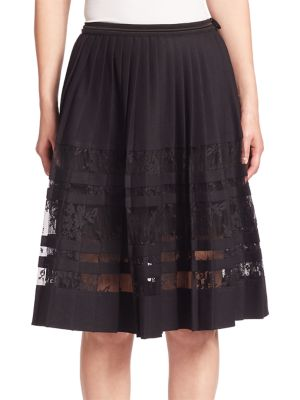 Frances Pleated Skirt