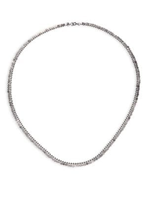SIA TAYLOR Full Dots Sterling Silver Necklace