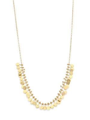 Dots 18K Yellow Gold Necklace