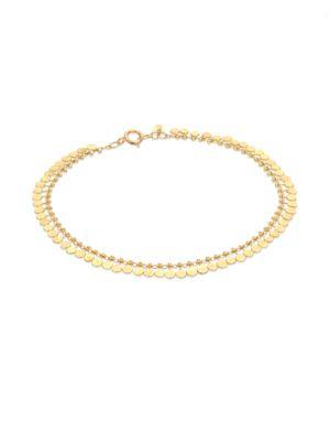 SIA TAYLOR Dots 18K Yellow Gold Bracelet