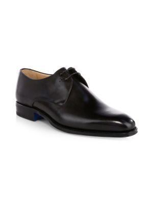 SUTOR MANTELLASSI Oscar Plain Der   Leather Derby Shoes