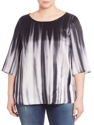 Ombre Silk Top