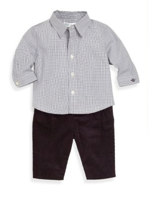 Baby's Two-Piece Shirt & Pants Set