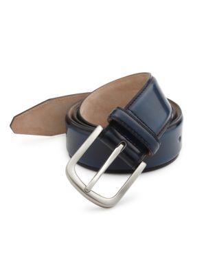 Cordovan Leather Belt