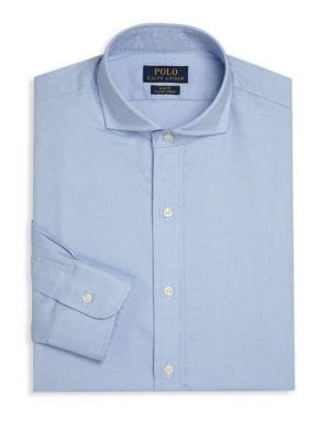 POLO RALPH LAUREN Slim-Fit Solid Dress Shirt