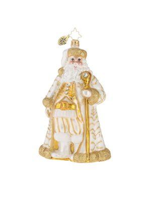 Golden Baroque Nicholas Ornament