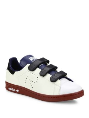 Stan Smith Multicolor Leather Grip-Tape Sneakers