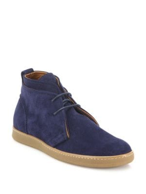 Double Layer Suede Chukka Boots