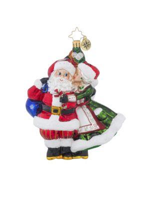 Mr. & Mrs. Mistletoe Ornament