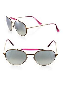 Ray-Ban - Phantos Round Sunglasses