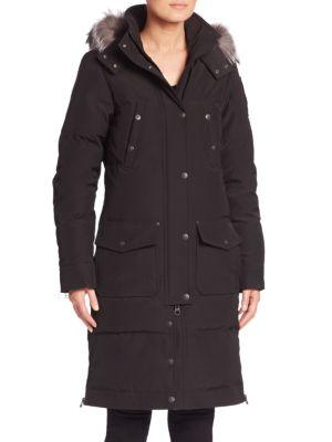 Moose Knuckles Alberta Fox Fur Trim Parka | Jacket, Coat and Clothing