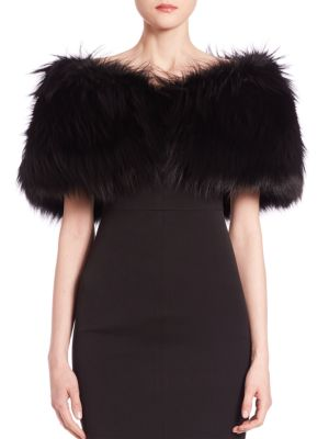 Fox Fur Stole by Michael Kors Collection