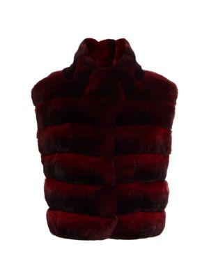 THE FUR SALON Chinchilla Fur Vest