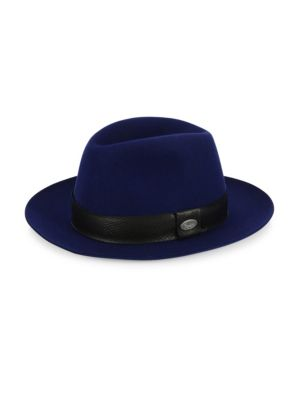 BARBISIO Barbisio Rabbit Fur Felt Fedora