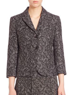 Printed Wool Jacket