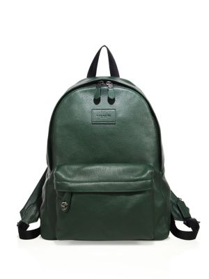 COACH 1941 Textured Leather Backpack