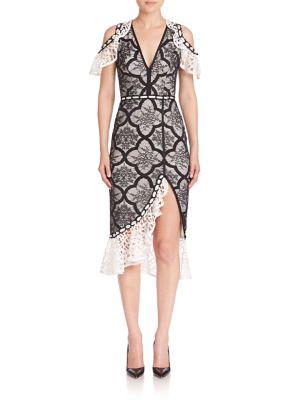 Emily Cold-Shoulder Dress