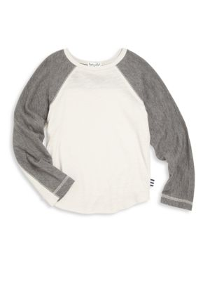 Toddler's & Little Boy's Raglan Sleeve T-Shirt
