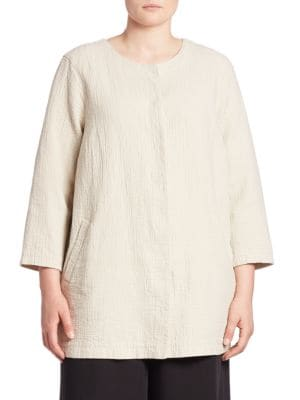 Linen & Organic Cotton Jacket