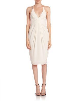 Silk Crossback Dress