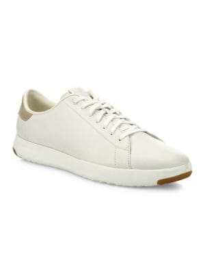 GrandPro Tennis Leather Sneakers