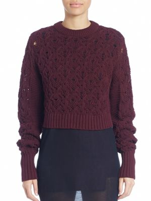 Long Sleeve Seed Stitched Sweater by Public School