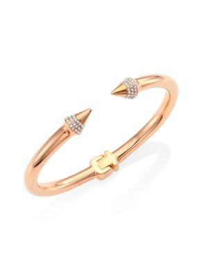 Mini Titan Crystal Bracelet/Rose Goldtone