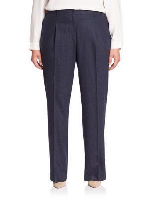 Rivington Straight-Leg Pants plus size,  plus size fashion plus size appare