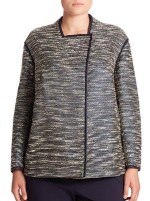 Dane Alta Reed Cloth Jacket plus size,  plus size fashion plus size appare
