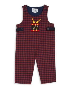 Baby's Cotton Plaid Coverall