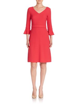 Chiara Wool A-Line Dress