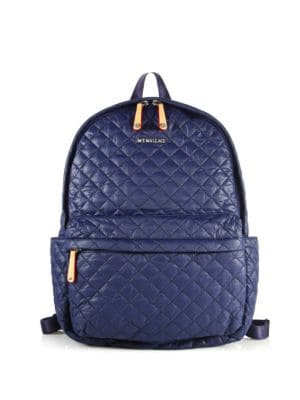 mz wallace female 236621 metro quilted nylon backpack