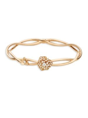 Rose Diamond & 18K Rose Gold Bracelet