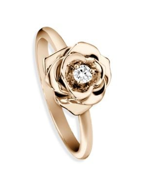 Rose Diamond & 18K Rose Gold Ring