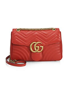 Gucci - GG 2.0 Medium Quilted Leather Shoulder Bag