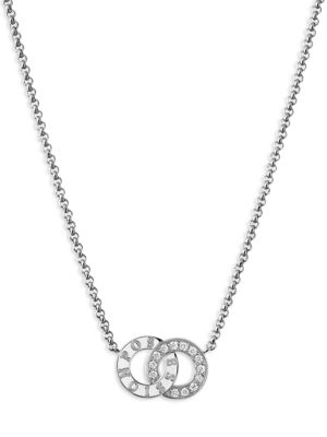Possession Diamond & 18K White Gold Pendant Necklace