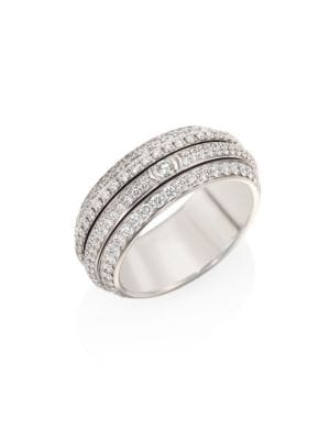 Possession 18K White Gold & Diamond Ring
