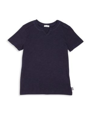Toddler's & Little Boy's Splitneck Tee