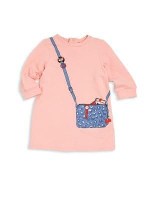 marc jacobs female 123825 babys purse graphic dress