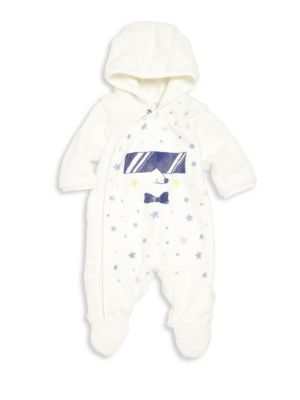marc jacobs baby 45883 babys faux fur graphic footie