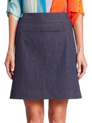 Denim Sailor Skirt