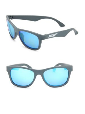 Kid's Aces Solid Navigator Sunglasses