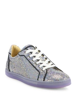 Seava Glitter Low-Top Sneakers plus size,  plus size fashion plus size appare