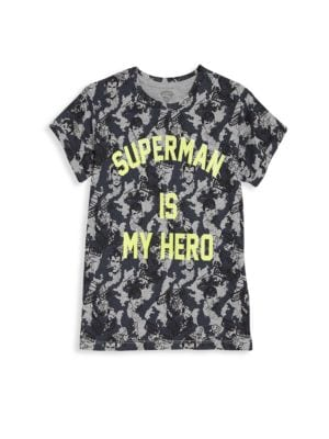 Little Boy's & Boy's Printed Superman Graphic Tee